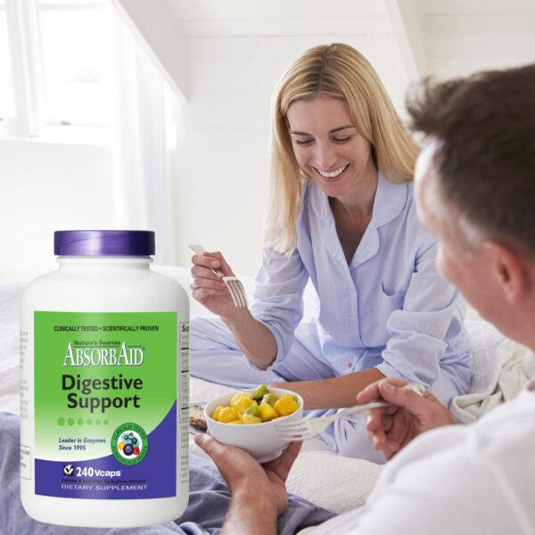 AbsorbAid Original 240 Digestive Enzymes breakfast