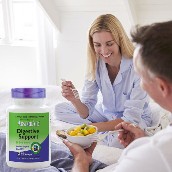 AbsorbAid Original 90 Digestive Enzymes breakfast