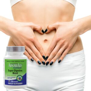 AbsorbAid Platinum 120 Digestive Enzymes happy stomach