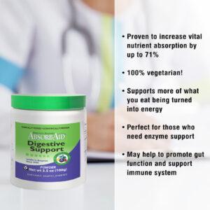 AbsorbAid Original 100g Digestive Enzyme Powder features