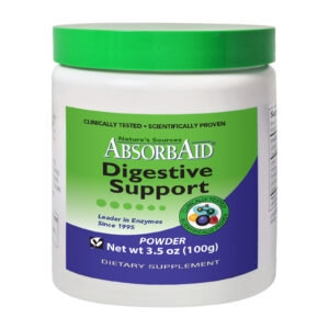 AbsorbAid Original 100g Complete Digestive Enzyme Formula in Powder Form