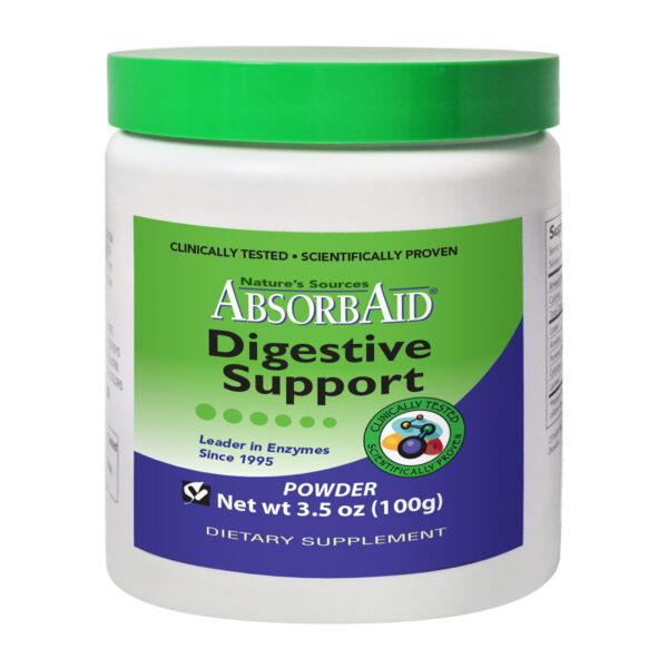AbsorbAid Original 100g Digestive Enzyme Powder Bottle