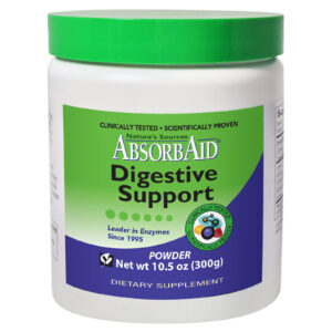 AbsorbAid Original 300g Complete Digestive Enzyme Formula in Powder Form