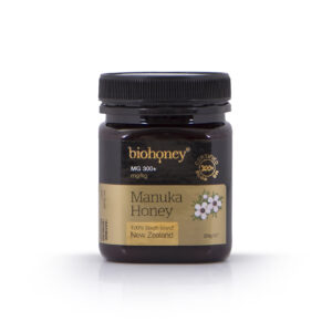Biohoney Organic 100% Manuka Honey from NZ Certified MG 300+ size 250g